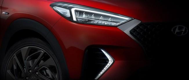 Hyundai Tucson N Line - teaser