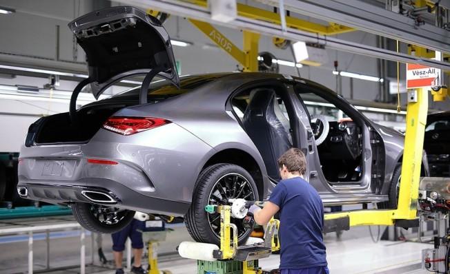 Mercedes CLA 2019 - producción