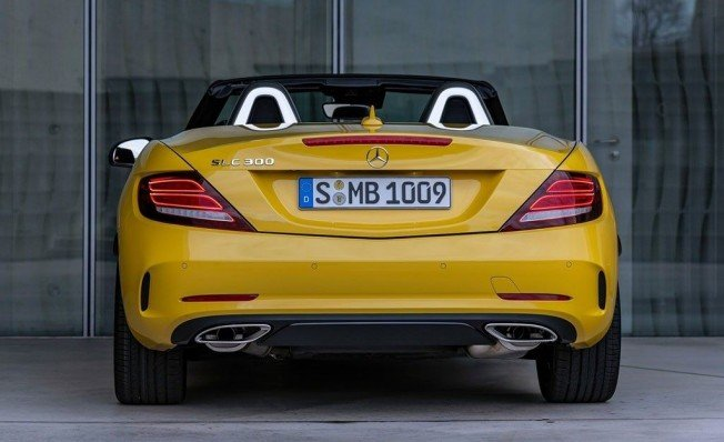 Mercedes SLC Final Edition - posterior