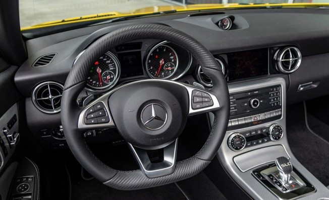 Mercedes SLC Final Edition - interior