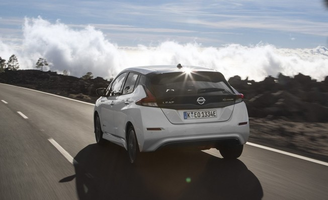 Nissan Leaf - posterior