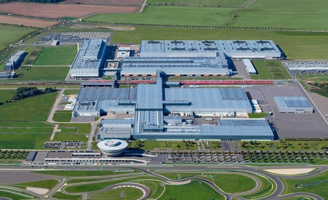 Fábrica de Porsche en Leipzig (Alemania)