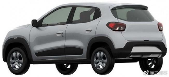 Renault Kwid EV - posterior