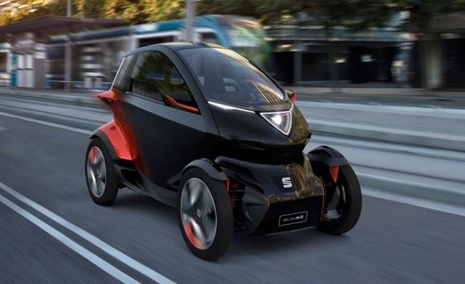 SEAT Minimó - posterior