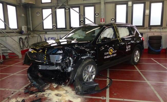 SEAT Tarraco en las pruebas Euro NCAP