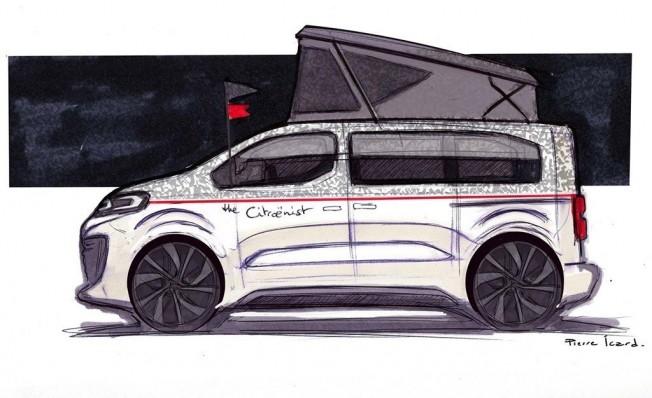 SpaceTourer The Citroënist Concept - teaser