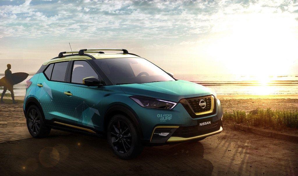 Nissan presenta el nuevo Kicks Surf concept