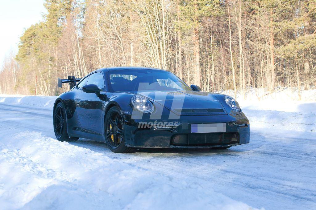 Los prototipos del nuevo Porsche 911 GT3 2020 con todo detalle