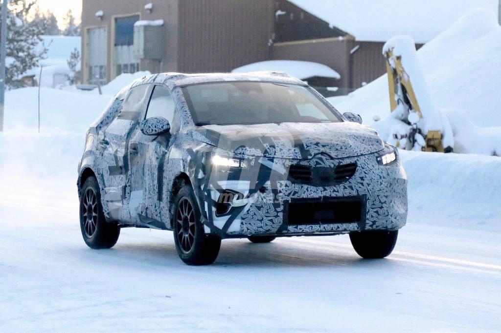 El Renault Captur 2020 ya se enfrenta a sus pruebas de invierno