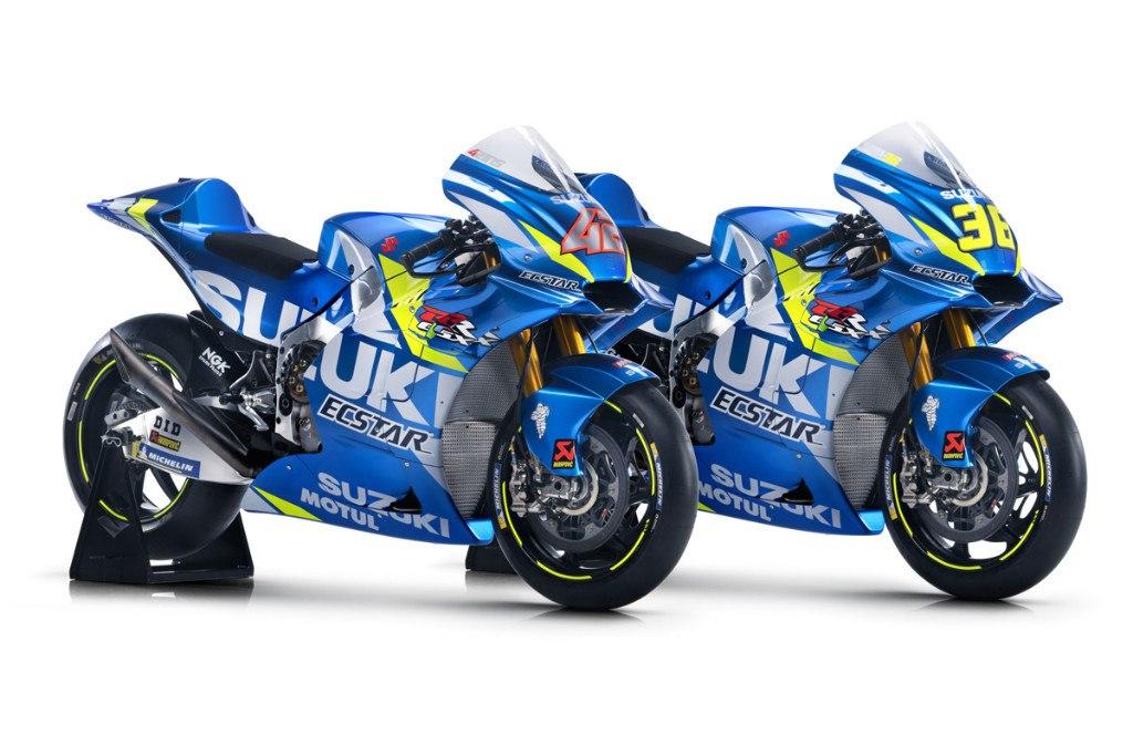 Suzuki MotoGP muestra las GSX-RR de Álex Rins y Joan Mir