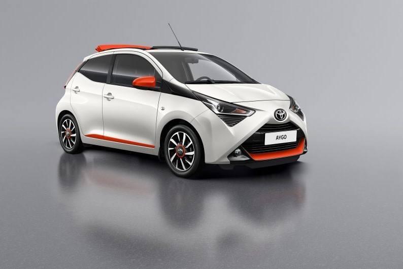 Toyota presentará los Aygo X-Otic y Aygo X-Cite en el Salón de Ginebra 2019