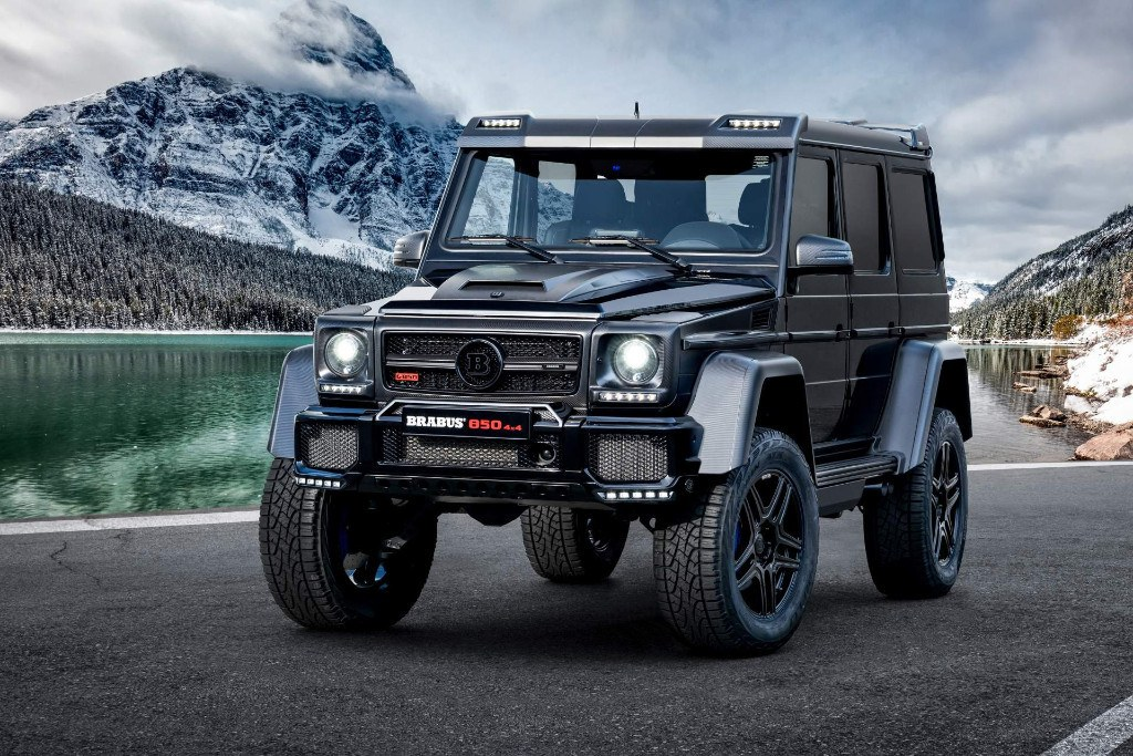 "Brabus desvela el brutal 850 6.0 Biturbo 4×4² Final Edition ""1 of 5"""