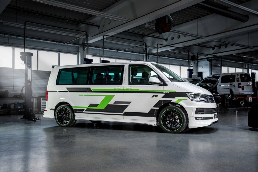 ABT presentará en Ginebra su nuevo comercial eléctrico basado en el Volkswagen T6