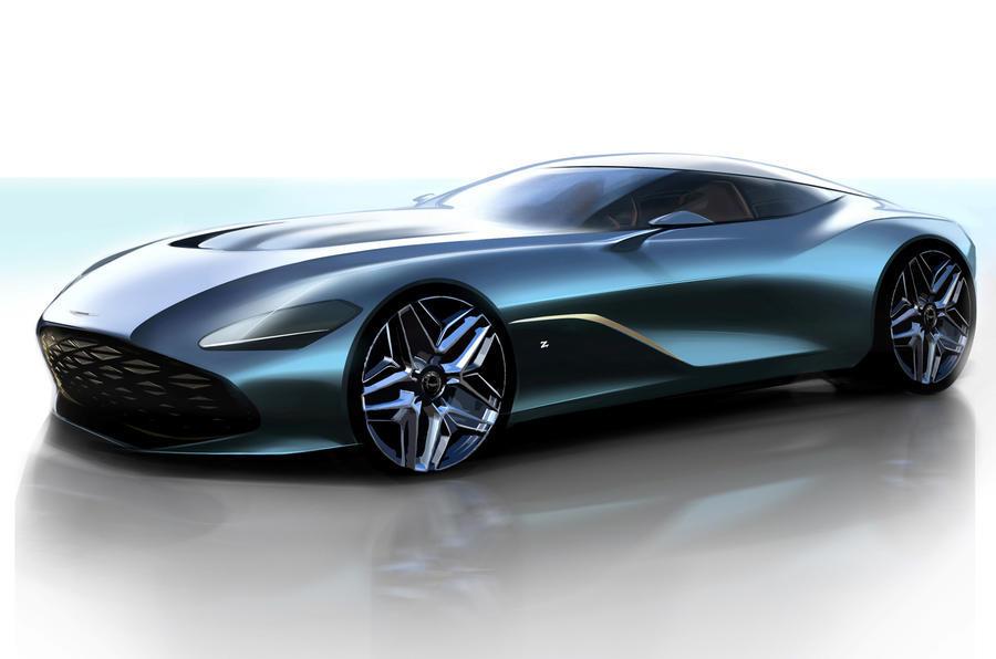 Aston Martin presenta los bocetos del espectacular DBS GT Zagato