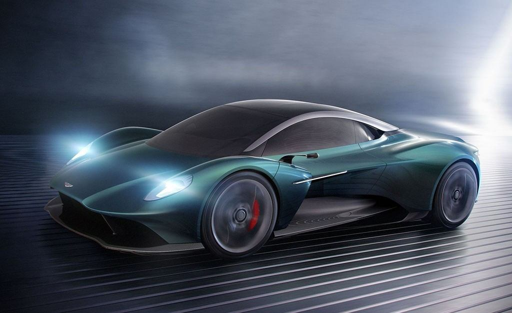 Aston Martin Vanquish Vision, se está fraguando un nuevo superdeportivo