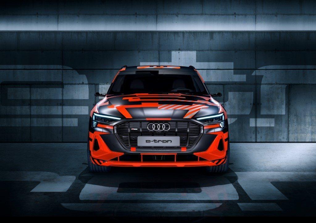 El nuevo Audi e-tron Sportback Prototype se viste con el camuflaje especial de lanzamiento