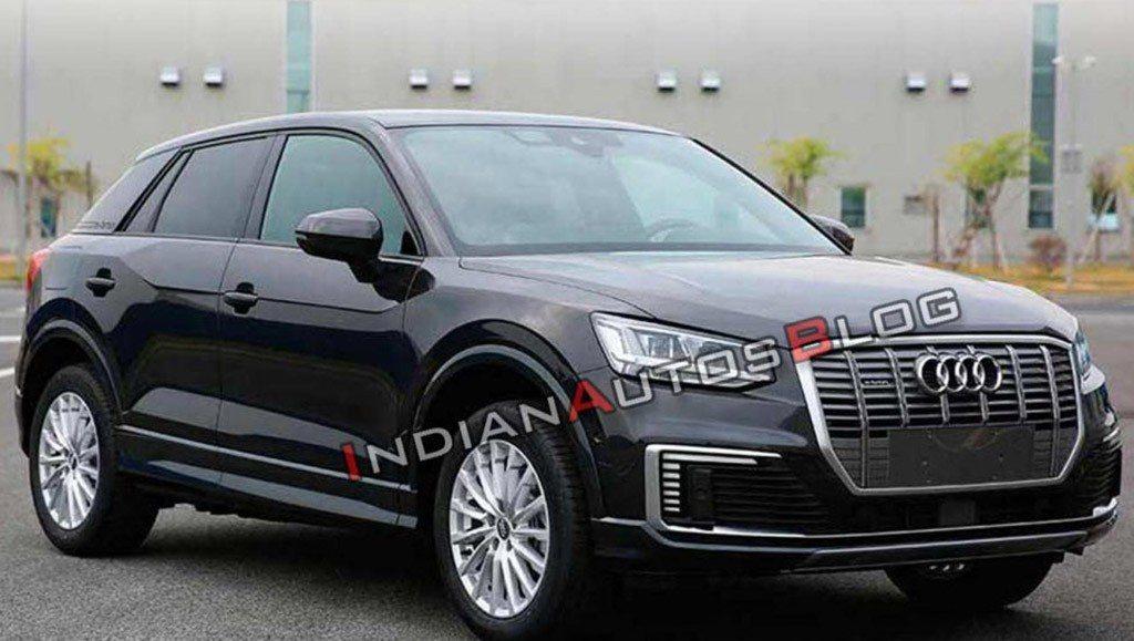El nuevo Audi Q2 L e-tron destinado al mercado chino es fotografiado al desnudo