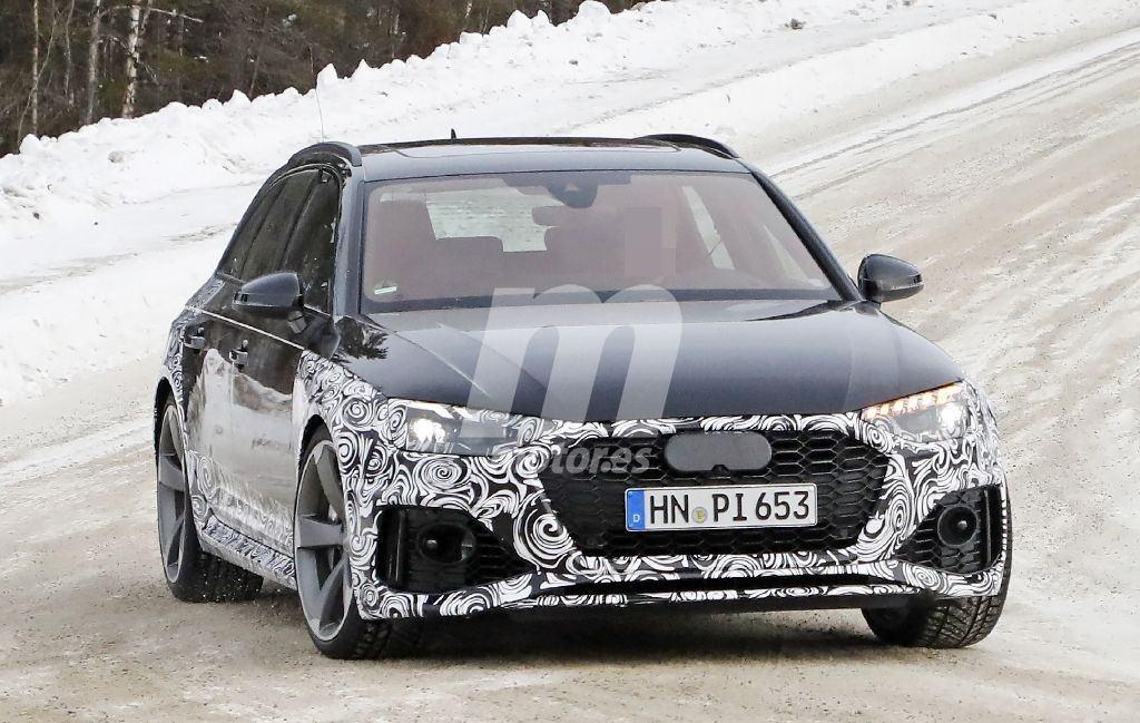 El Audi RS 4 Avant estrenará una nueva imagen en 2020