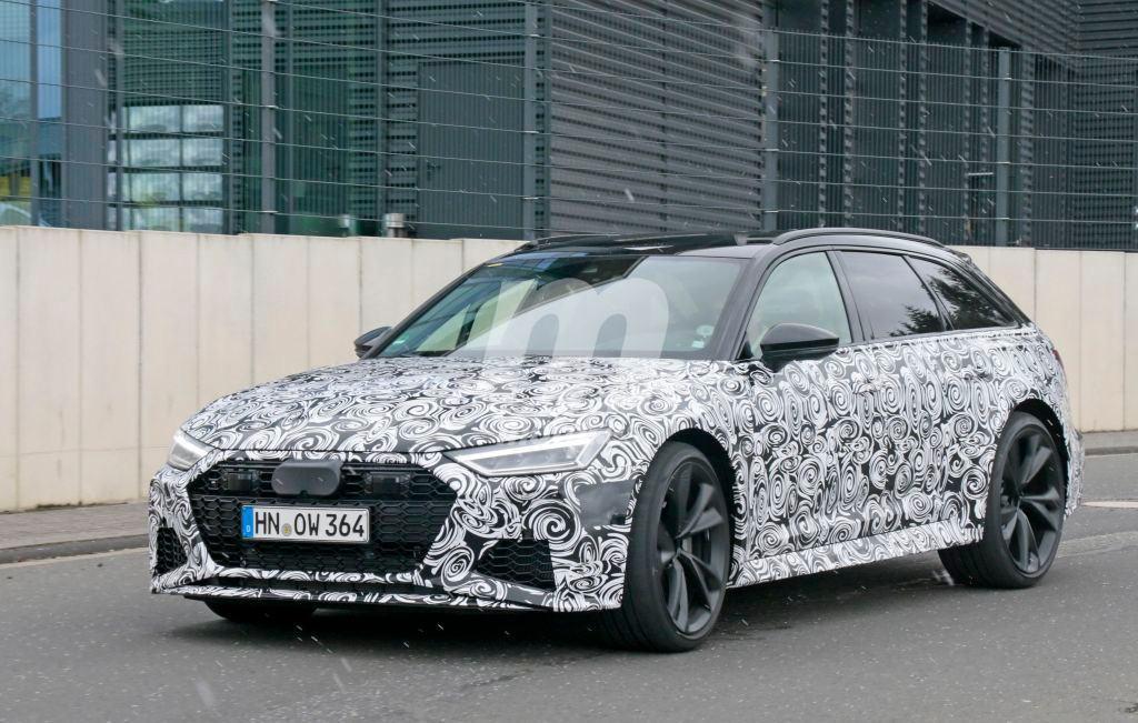 El nuevo Audi RS6 Avant 2020 se deja ver por primera vez