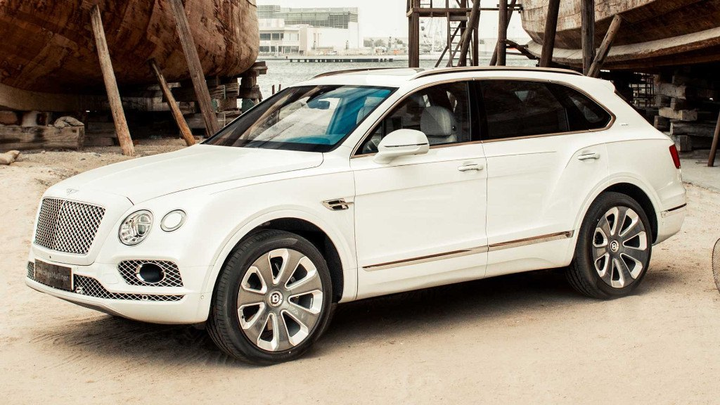 Bentley presenta el nuevo Bentayga Mulliner Pearl of the Gulf