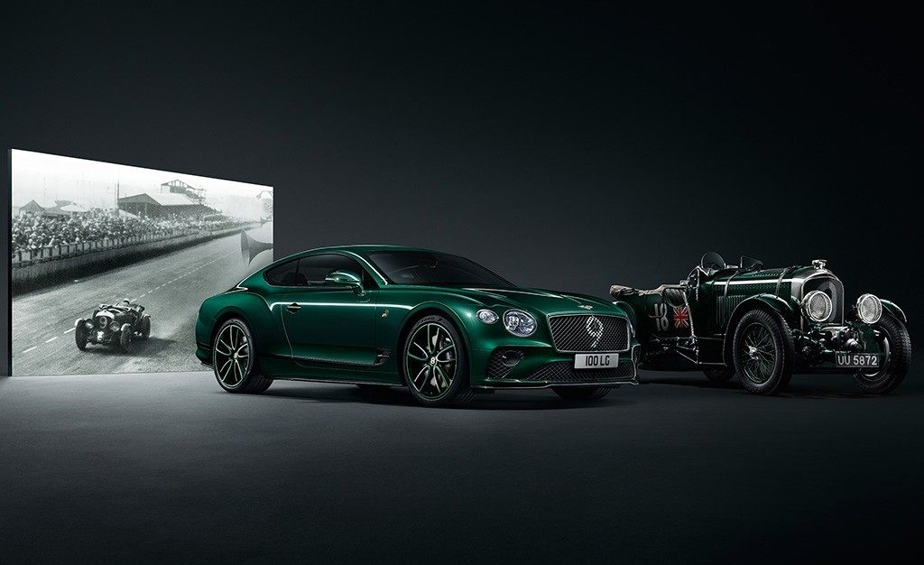 Bentley Continental GT Number 9 Edition, la competición como gran inspiración