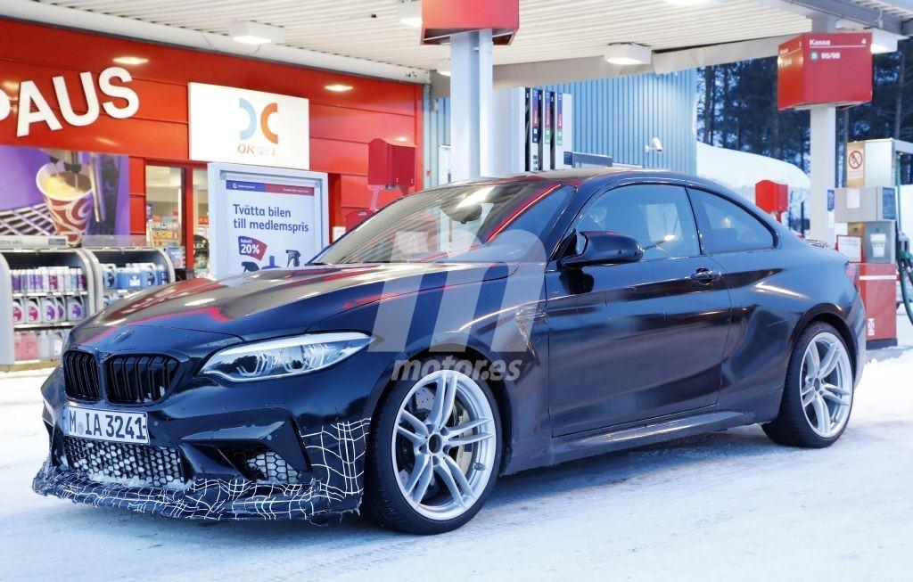 El nuevo BMW M2 CS, con lujo de detalles en nuevas fotos espía