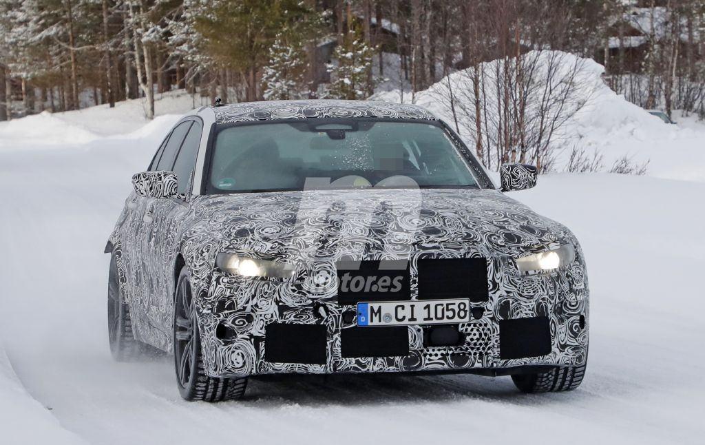 BMW comienza las pruebas de invierno del nuevo M3 al norte de Europa