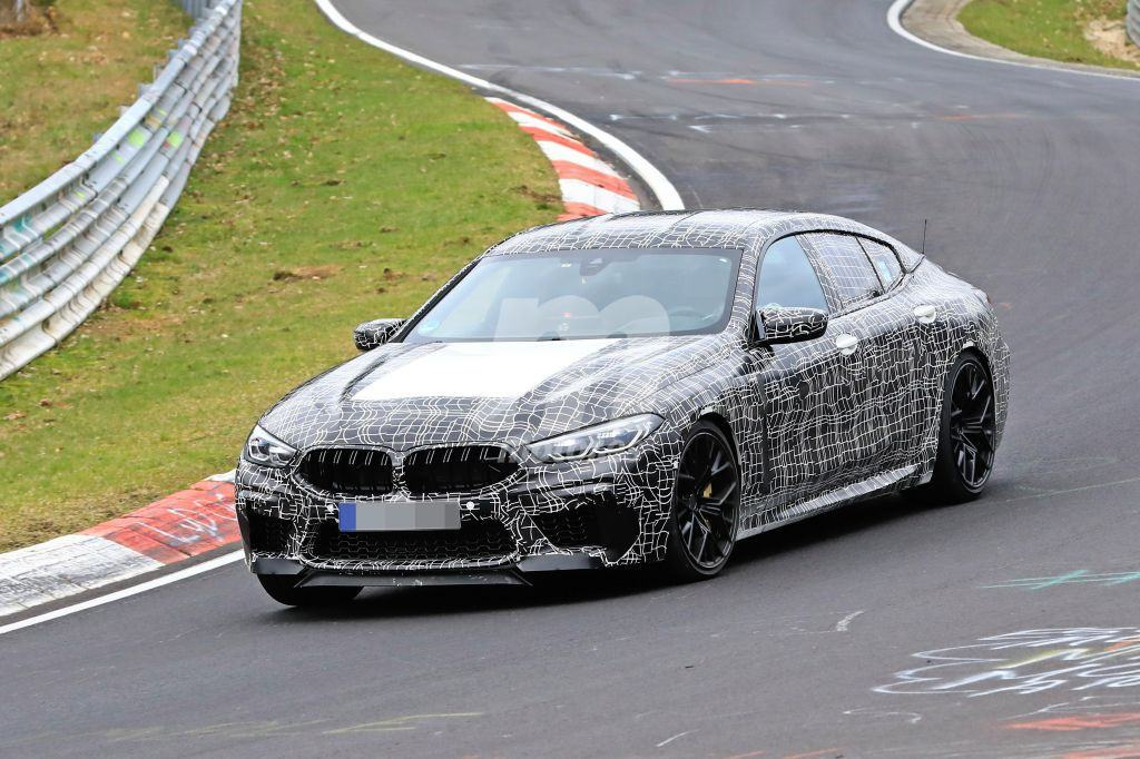 El nuevo BMW M8 Gran Coupé se enfrenta de nuevo al Nürburgring