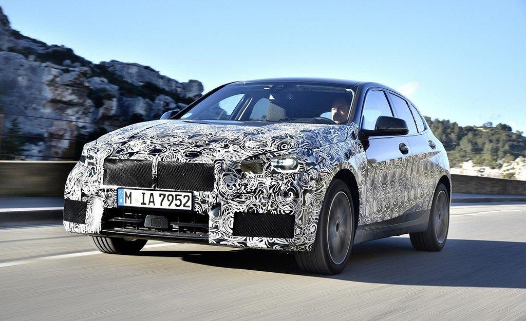 El desarrollo del nuevo BMW Serie 1 encara su recta final en Miramas