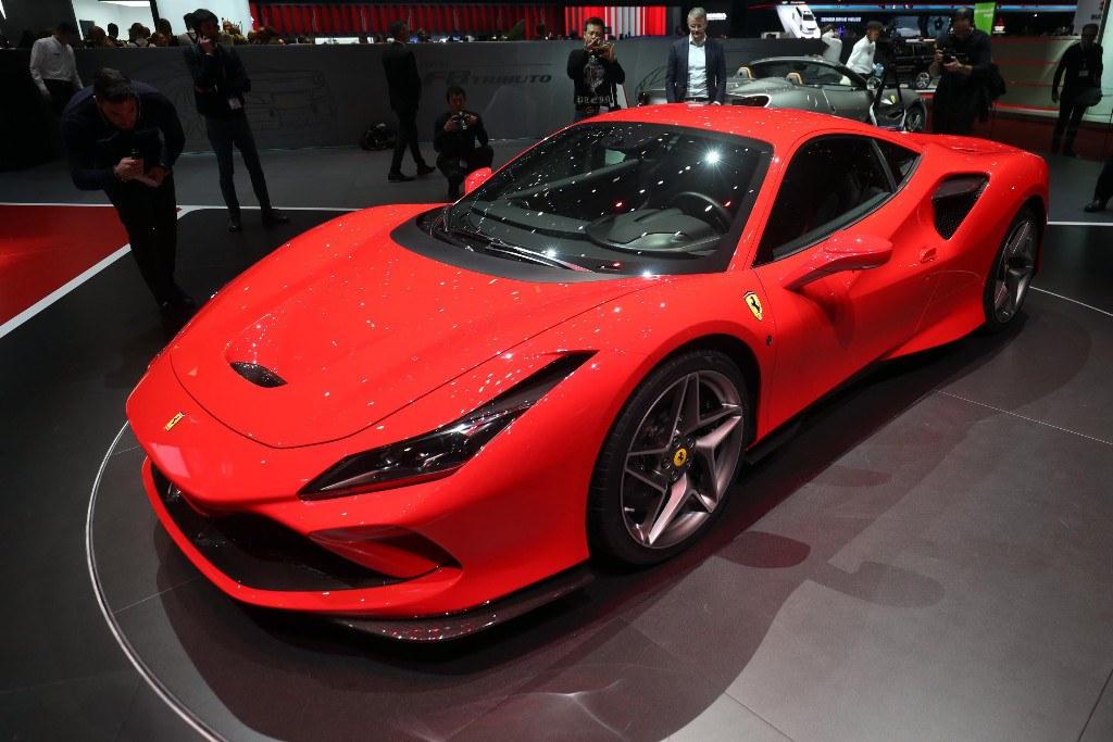 El Ferrari F8 Tributo presentado oficialmente en Ginebra 2019