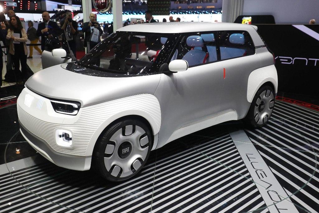 El Fiat Centoventi concept pasó algo desapercibido en Ginebra 2019