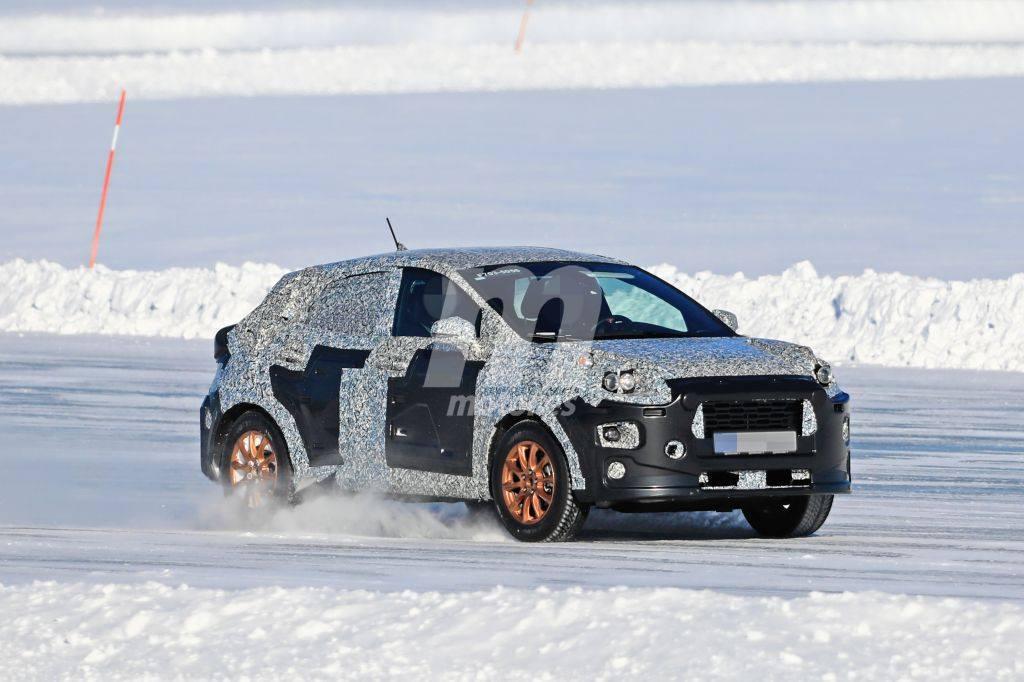 El nuevo B-SUV de Ford cazado durante sus pruebas de invierno