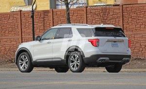 Primeras imágenes del nuevo Ford Explorer PHEV