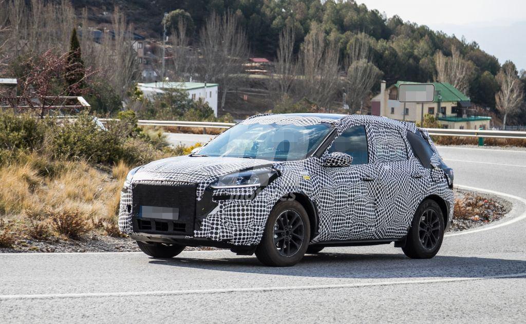 El nuevo Ford Kuga híbrido ya está de pruebas en Europa