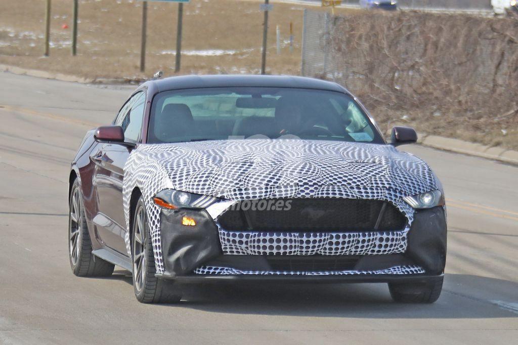 Cazadas las primeras mulas del Ford Mustang Hybrid