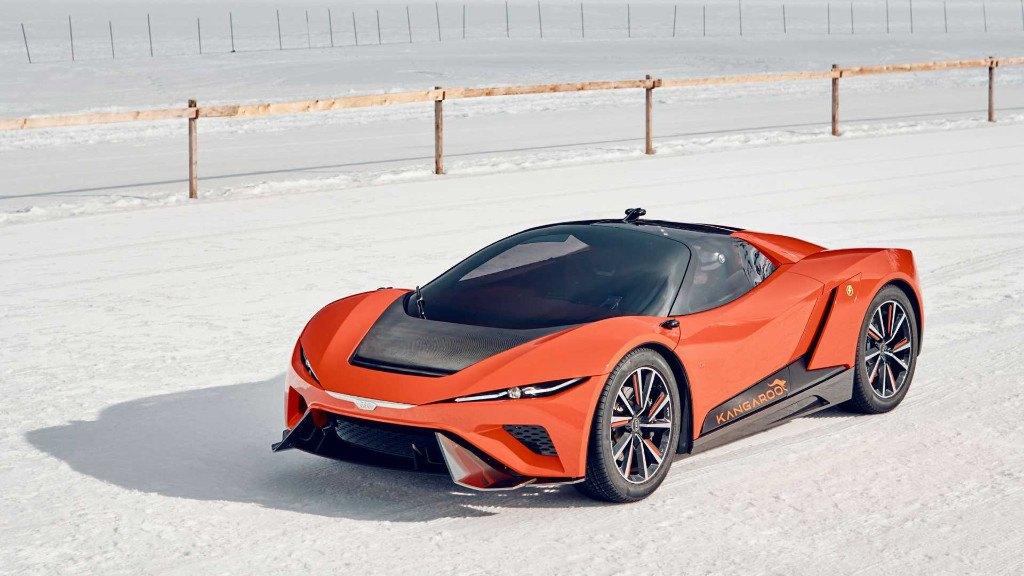 GFG Style Kangaroo: el Hyper-SUV eléctrico de los Giugiaro