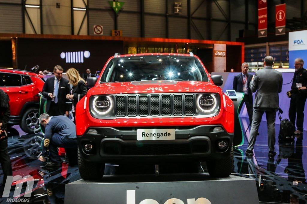 Jeep Renegade Hybrid, debuta la versión híbrida enchufable del B-SUV en Ginebra 2019