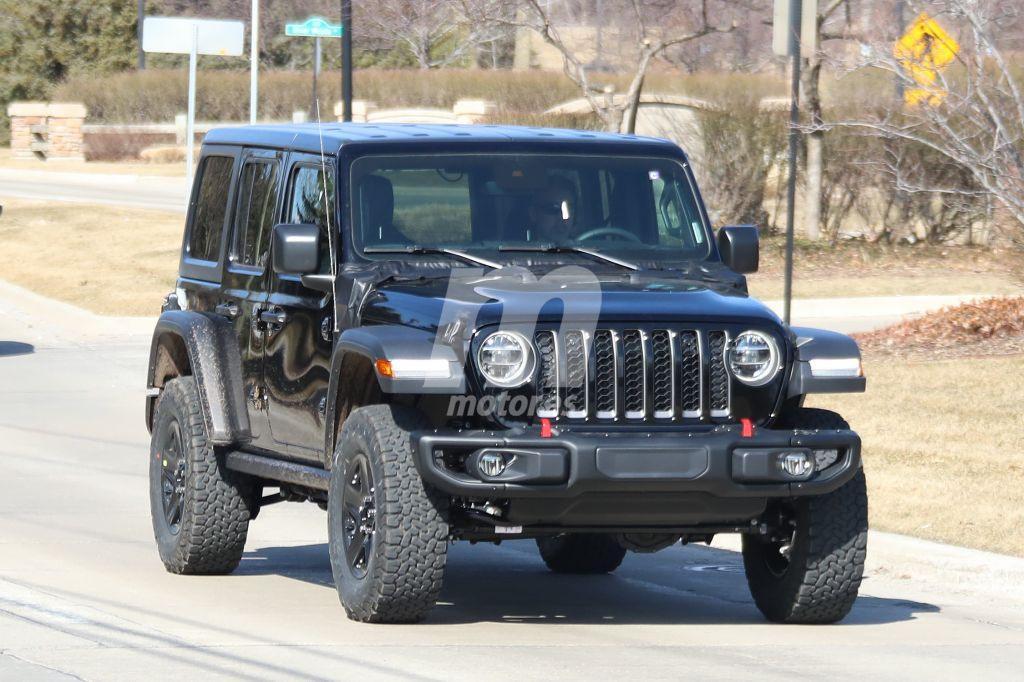El nuevo Jeep Wrangler híbrido enchufable se deja ver por primera vez