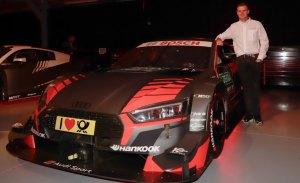 Jonathan Aberdein, primer piloto de WRT en el DTM