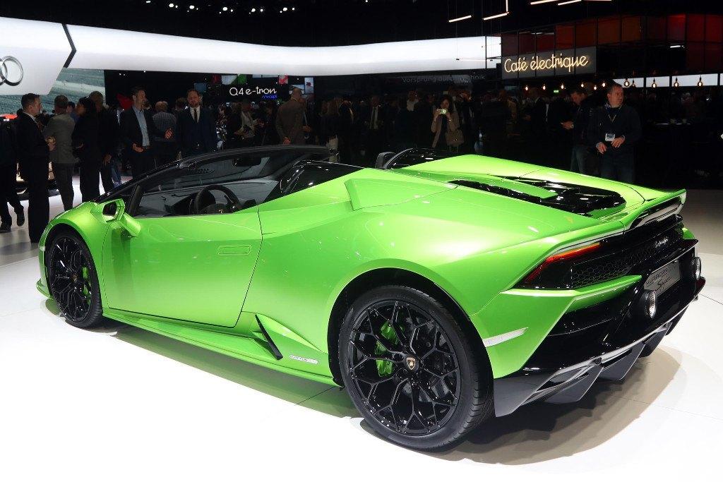 El nuevo Lamborghini Huracán EVO Spyder desvelado en Ginebra 2019