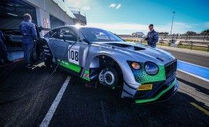 Ordóñez debuta con Bentley en las 8 Horas de California