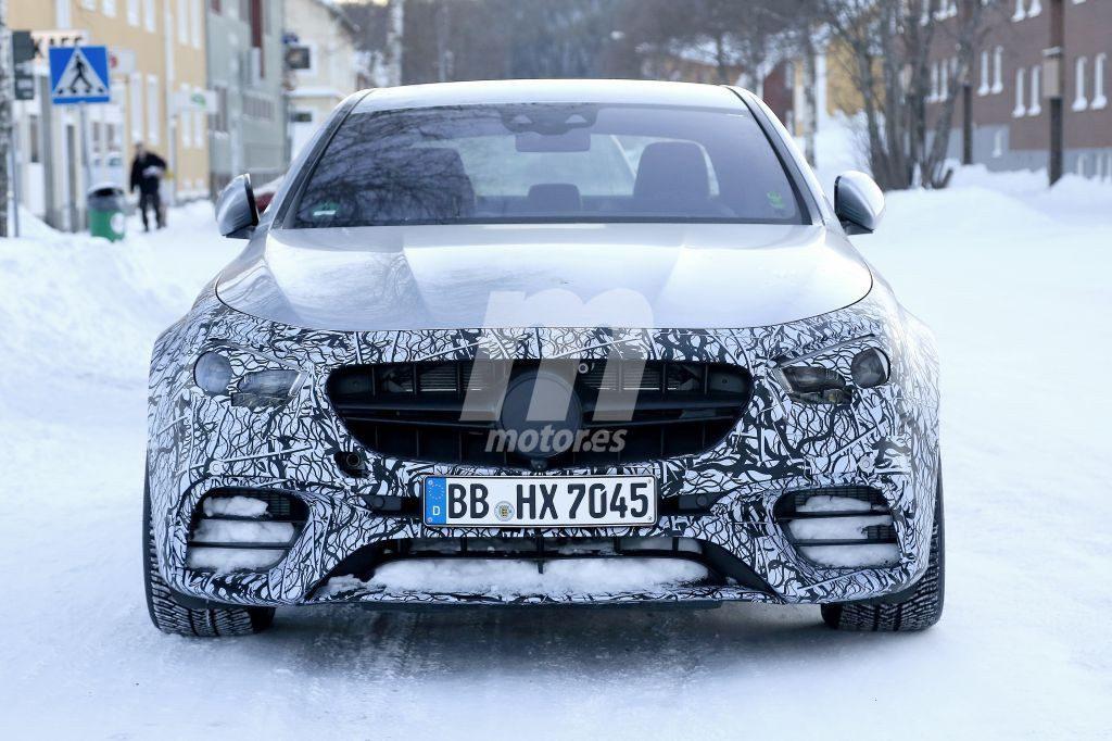 Mercedes-AMG comienza las pruebas de actualización del E 63 Berlina