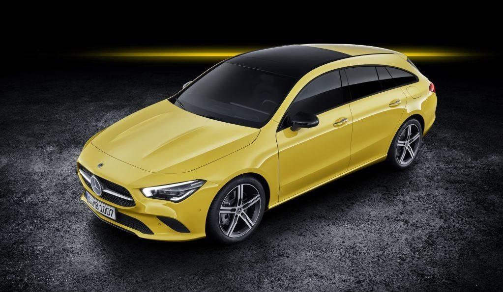 Mercedes presenta el nuevo Clase CLA Shooting Brake en Ginebra