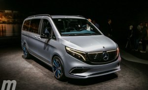 Mercedes desvela en el Salón de Ginebra 2019 el concept EQV