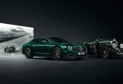 Bentley Continental GT Number 9 Edition, la competición como gran inspiración