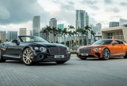 El Bentley Continental GT estrena motor V8: también para la variante descapotable