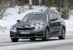 El nuevo BMW Serie 3 Touring casi al desnudo en Suecia