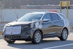 Los prototipos del Chevrolet Equinox facelift con más detalle