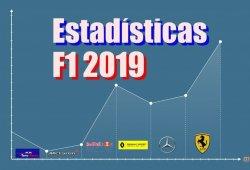 Así están las estadísticas del Mundial de Fórmula 1 de 2019