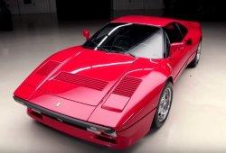 El clásico Ferrari 288 GTO visita el programa de Jay Leno
